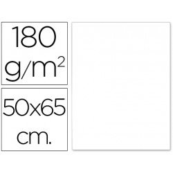 CARTULINA LIDERPAPEL 50X65 CM 180G/M2 BLANCO