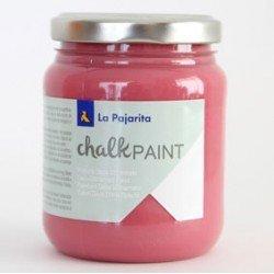 Pintura Acrilica La Pajarita Efecto Tiza Color Fresa Boho 175 ml Chalk Paint