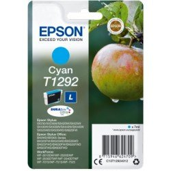 Cartucho Epson T1292 color Cian C13T12924012