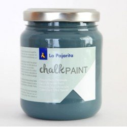 Pintura Acrilica La Pajarita Efecto Tiza Color Midnigth Blue 175 ml Chalk Paint