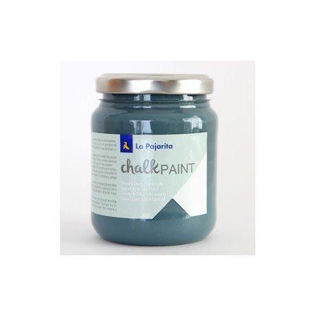 Pintura Acrilica La Pajarita Efecto Tiza Color Midnigth Blue 175 ml Chalk Paint