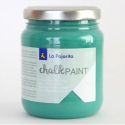 Pintura Acrilica La Pajarita Efecto Tiza Color Piel de Mar 175 ml Chalk Paint