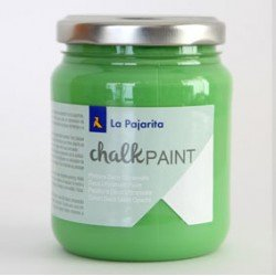 Pintura Acrilica La Pajarita Efecto Tiza Color Albahaca 175 ml Chalk Paint