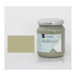 Pintura Acrilica La Pajarita Efecto Tiza Color Agave 175 ml Chalk Paint