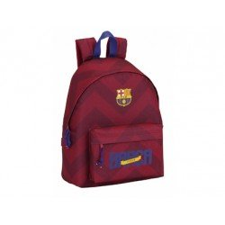 Mochila Escolar F.C. Barcelona Sin carro 32x14x40 cm Day Pack Granate