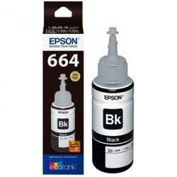 Tinta Epson T6641 color Negro Botella de 70 ml C13T664140