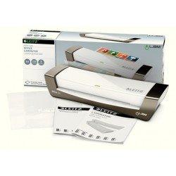 Plastificadora Leitz DIN A4 con 2 Rodillos hasta 125MC color Plata
