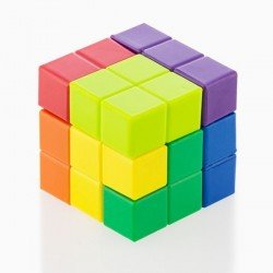 Puzzle Cubo Junior Knows 7 piezas