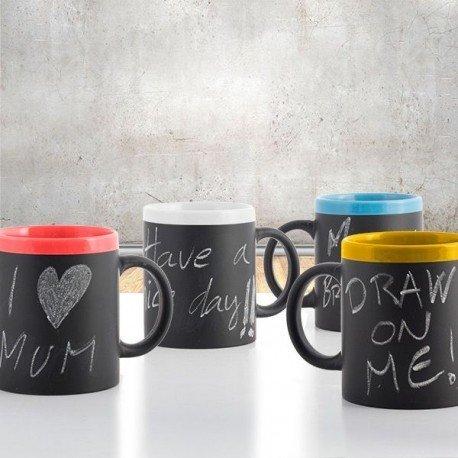 Taza de Ceramica Pizarra Gadget and Gifts NO SE PUEDE ELEGIR COLOR