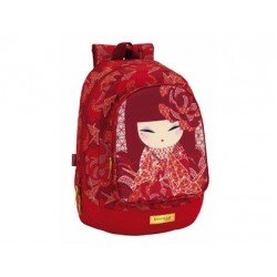 CARTERA ESCOLAR SAFTA KIMMIDOLL KAZUNA MOCHILA ADAPTABLE A CARRO 330X460X175 MM
