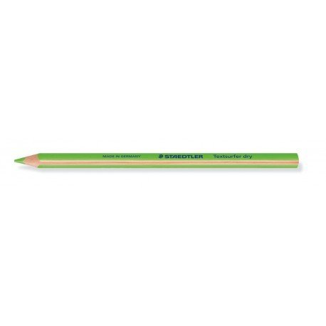 LAPICES FLUORESCENTE STAEDTLER TRIANGULAR TOP STAR VERDE CAJA DE 12 UNIDADES