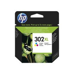 Cartucho HP 302XL Tricolor referencia F6U67AE