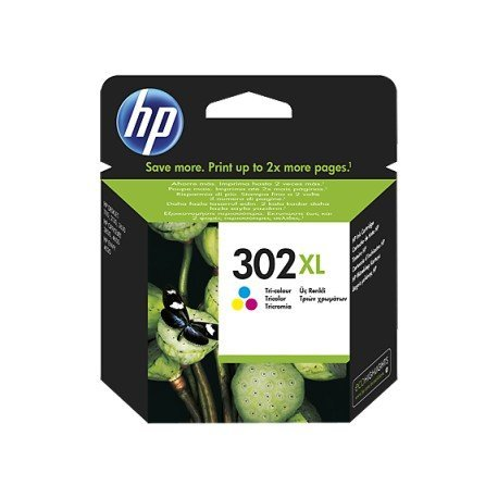 INK-JET HP N.302XL ENVY 4524 / 4527 / 4528 / 4521 TRICOLOR 330 PAG