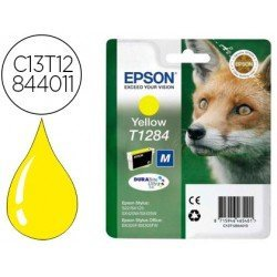 Cartucho Epson T1244 color Amarillo C13T12844012