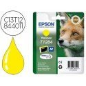 INK-JET EPSON T1284 STYLUS S22 / SX125 AMARILLO -170 PAG-