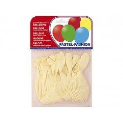 Globos Pastel Blanco Bolsa de 20 unidades