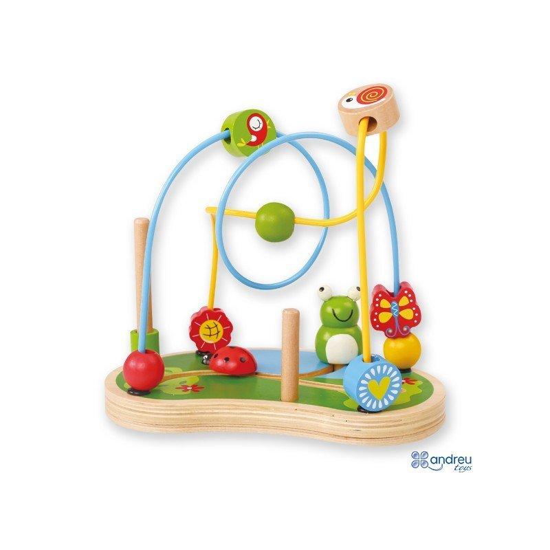 juego para bebes a partir de ao jardin de madera marca ambitoys