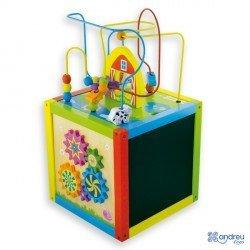 Juego para bebes a partir de 1 año Cubo de Actividades marca Ambitoys