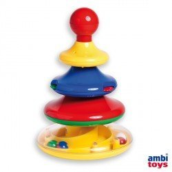 Juego para bebes a partir de 1 año Torre de Actividades Ambitoys