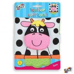 Cuento para bebes Libro suave Vaca Galt Toys