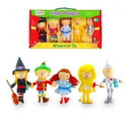 Marioneta de dedo Personajes Mago de Oz partir de 3 años Fiesta Crafts