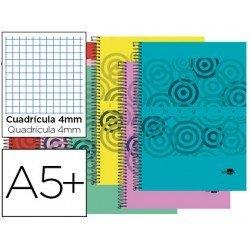 Bloc Cuarto espiral serie Classic Liderpapel 4mm