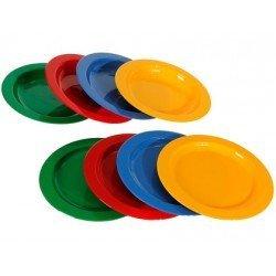 Platos de plastico especiales para niños Miniland