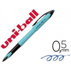 Boligrafo marca Uni-ball Roller Air Micro UBA-188E azul cielo tinta azul 0,5mm