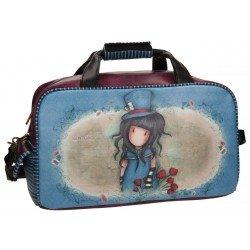Bolsa de viaje 25x45x25 cm en Piel sintética Gorjuss The Hatter