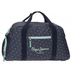 Bolsa de viaje 27x55x20 cm en Poliester Pepe Jeans Dots