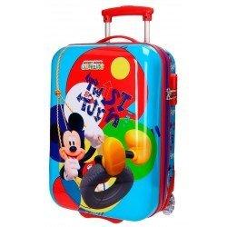 Maleta de cabina 55x31x20 cm Rígida 2 ruedas Mickey Twist