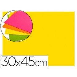 Goma Eva Autoadhesiva color Amarillo 30x45 cm Bolsa 6 uds