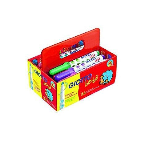 Rotuladores Giotto Super school Pack Bebe de 36 unidades