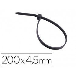 Bridas 3M para exterior color negro 200x3,5 mm