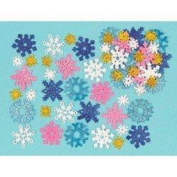 Copo Estrella Especial Navidad Foam purpurina 5 cm