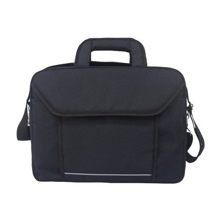 "Maletin para portatil 15"" Q-Connect Poliester color negro"