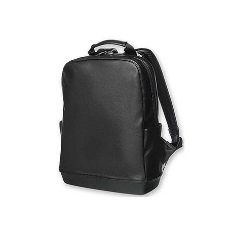 "Mochila para portatil 15"" Moleskine bolsillos laterales color Negro"