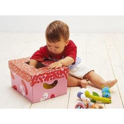 Regalo Niño 2 años y 3 años.Cesta con los 8 productos más buscados y divertidos para ellos