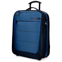 Maleta de cabina 55x39x20 cm Blanda 2 ruedas Movom Detroid Azul
