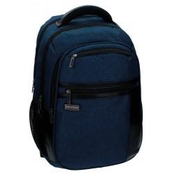 """Mochila para portátil 15,6"""" de Movom Padding Azul doble compartimento"""
