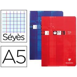 Libreta Clairefontaine Tapa de Carton Plastificada 40 hojas DIN A5 Colores Surtidos
