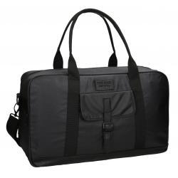 Bolsa de viaje Pepe Jeans 50x30x20 cm de Piel Sintética Black Label