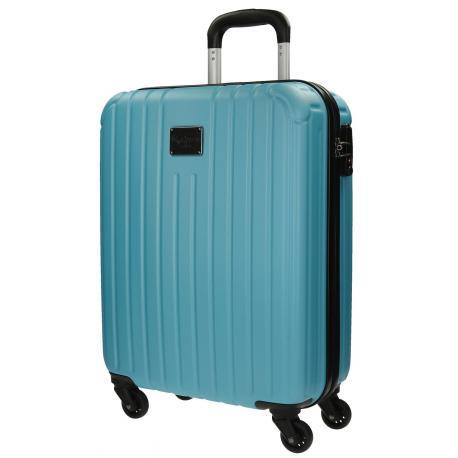 Maleta de Cabina 55x40x20 cm Rígida 4 ruedas Pepe Jeans Azul Celeste