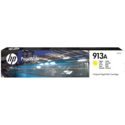 Cartucho HP 913A PageWide Ink-jet Amarillo F6T79AE 3.000 paginas