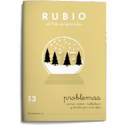 Cuaderno Rubio Problemas nº 13 Sumar, restar, multiplicar y dividir por una cifra