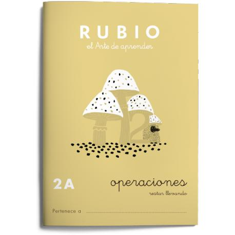 Cuaderno Rubio Operaciones nº 2 A Restar llevando