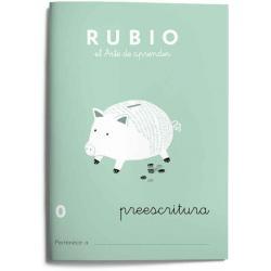 Cuaderno Rubio Escritura nº 0 Preescritura con puntos, dibujos y grecas