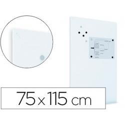 Pizarra Blanca lacada Rocada Mural Magnética sin marco 75x115 cm