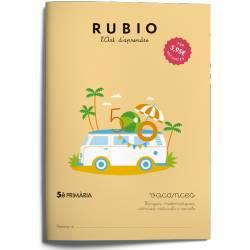 Cuaderno Rubio Vacances 5º Primaria en Catalán