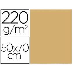 Cartulina Lisa/Rugosa Liderpapel Crema 50x70 cm 220 gr